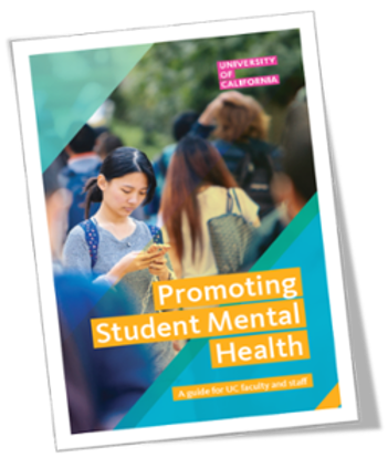image of the front cover of the Promoting Student Mental Health Guide