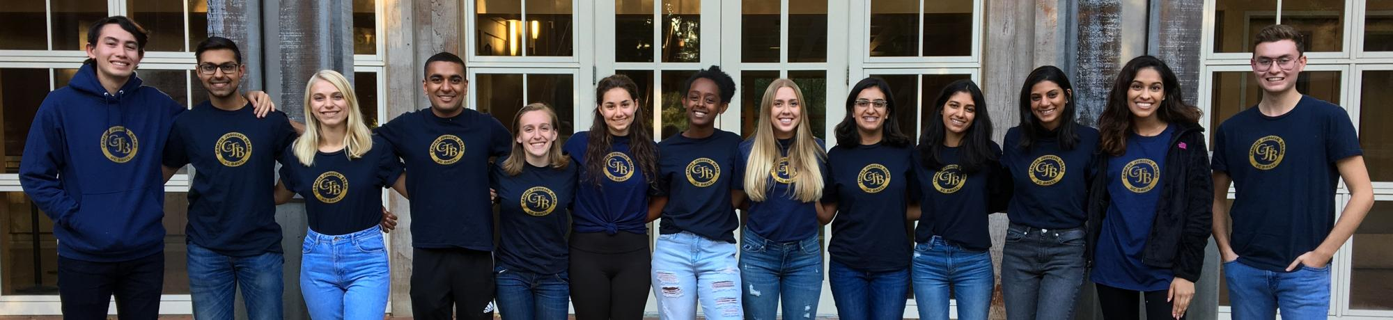 2018-2019 members of the Campus Judicial Board